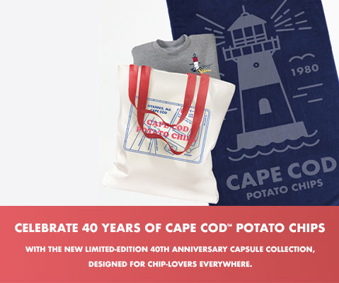 Celebrate 40 years of Cape Cod potato chips with this limited edition collection!